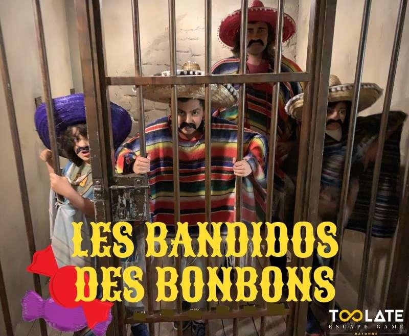 LES BANDIDOS DES BONBONS